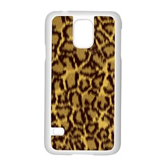 Seamless Animal Fur Pattern Samsung Galaxy S5 Case (white) by Simbadda