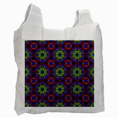 Abstract Pattern Wallpaper Recycle Bag (One Side) by Simbadda