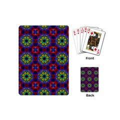 Abstract Pattern Wallpaper Playing Cards (mini)  by Simbadda