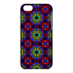 Abstract Pattern Wallpaper Apple Iphone 5c Hardshell Case by Simbadda