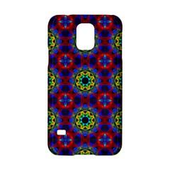 Abstract Pattern Wallpaper Samsung Galaxy S5 Hardshell Case  by Simbadda