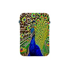 Graphic Painting Of A Peacock Apple Ipad Mini Protective Soft Cases by Simbadda