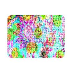 Bright Rainbow Background Double Sided Flano Blanket (mini)  by Simbadda