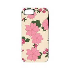 Vintage Floral Wallpaper Background In Shades Of Pink Apple Iphone 5 Classic Hardshell Case (pc+silicone) by Simbadda