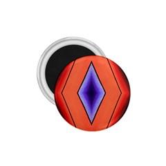 Diamond Shape Lines & Pattern 1 75  Magnets by Simbadda