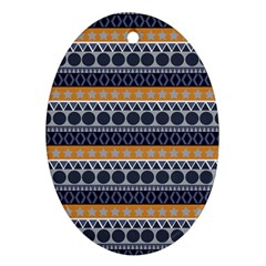 Abstract Elegant Background Pattern Ornament (oval) by Simbadda
