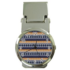 Abstract Elegant Background Pattern Money Clip Watches by Simbadda