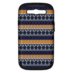 Abstract Elegant Background Pattern Samsung Galaxy S Iii Hardshell Case (pc+silicone) by Simbadda