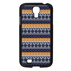 Abstract Elegant Background Pattern Samsung Galaxy S4 I9500/ I9505 Case (black) by Simbadda