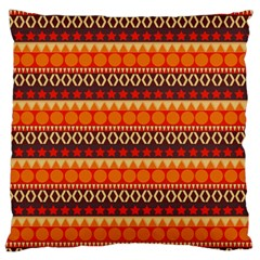 Abstract Lines Seamless Pattern Standard Flano Cushion Case (two Sides) by Simbadda
