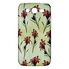 Vintage Style Seamless Floral Wallpaper Pattern Background Samsung Galaxy Mega 5 8 I9152 Hardshell Case  by Simbadda