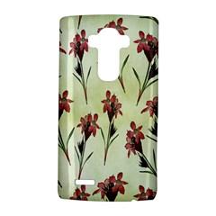 Vintage Style Seamless Floral Wallpaper Pattern Background Lg G4 Hardshell Case by Simbadda
