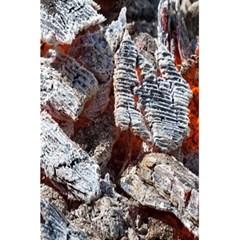 Wooden Hot Ashes Pattern 5 5  X 8 5  Notebooks by Simbadda