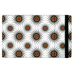 Pearly Pattern Half Tone Background Apple Ipad 2 Flip Case by Simbadda
