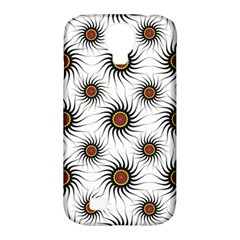 Pearly Pattern Half Tone Background Samsung Galaxy S4 Classic Hardshell Case (pc+silicone) by Simbadda