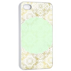 Seamless Abstract Background Pattern Apple Iphone 4/4s Seamless Case (white) by Simbadda