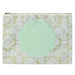Seamless Abstract Background Pattern Cosmetic Bag (xxl)  by Simbadda