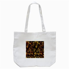 Loral Vintage Pattern Background Tote Bag (white) by Simbadda