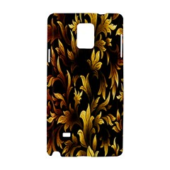 Loral Vintage Pattern Background Samsung Galaxy Note 4 Hardshell Case by Simbadda