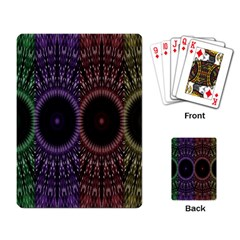Digital Colored Ornament Computer Graphic Playing Card