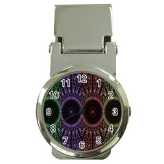 Digital Colored Ornament Computer Graphic Money Clip Watches by Simbadda