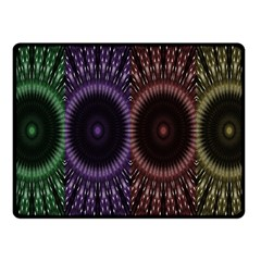 Digital Colored Ornament Computer Graphic Fleece Blanket (small) by Simbadda