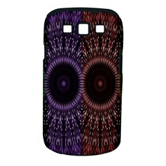 Digital Colored Ornament Computer Graphic Samsung Galaxy S Iii Classic Hardshell Case (pc+silicone) by Simbadda