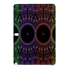 Digital Colored Ornament Computer Graphic Samsung Galaxy Tab Pro 10 1 Hardshell Case by Simbadda