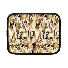 Floral Vintage Pattern Background Netbook Case (small)  by Simbadda