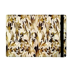 Floral Vintage Pattern Background Apple Ipad Mini Flip Case by Simbadda