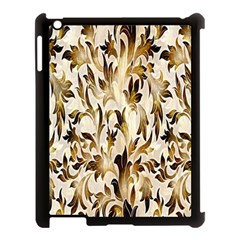 Floral Vintage Pattern Background Apple Ipad 3/4 Case (black) by Simbadda