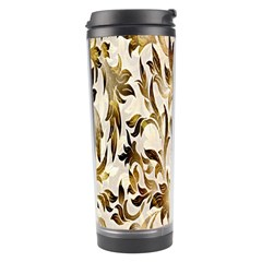 Floral Vintage Pattern Background Travel Tumbler