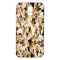 Floral Vintage Pattern Background Samsung Galaxy S5 Back Case (white) by Simbadda