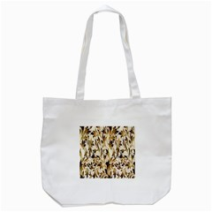 Floral Vintage Pattern Background Tote Bag (white) by Simbadda