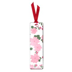 Vintage Floral Wallpaper Background In Shades Of Pink Small Book Marks by Simbadda