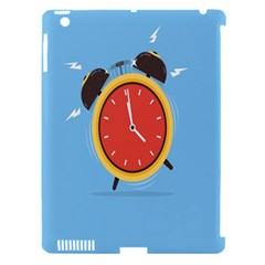 Alarm Clock Weker Time Red Blue Apple Ipad 3/4 Hardshell Case (compatible With Smart Cover) by Alisyart