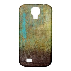 Aqua Textured Abstract Samsung Galaxy S4 Classic Hardshell Case (pc+silicone) by theunrulyartist