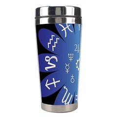 Astrology Birth Signs Chart Stainless Steel Travel Tumblers by Amaryn4rt