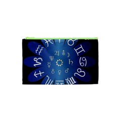 Astrology Birth Signs Chart Cosmetic Bag (xs) by Amaryn4rt