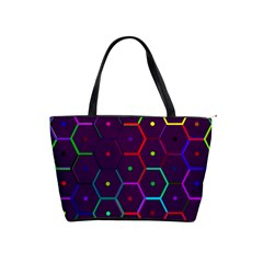 Color Bee Hive Pattern Shoulder Handbags by Amaryn4rt