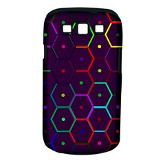 Color Bee Hive Pattern Samsung Galaxy S Iii Classic Hardshell Case (pc+silicone) by Amaryn4rt