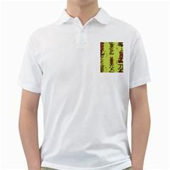 Set Of Monetary Symbols Golf Shirts