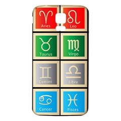 Set Of The Twelve Signs Of The Zodiac Astrology Birth Symbols Samsung Galaxy S5 Back Case (white) by Amaryn4rt