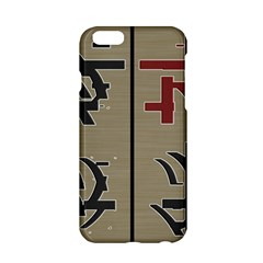 Xia Script On Gray Background Apple Iphone 6/6s Hardshell Case by Amaryn4rt