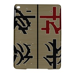 Xia Script On Gray Background Ipad Air 2 Hardshell Cases by Amaryn4rt