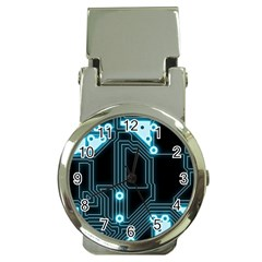 A Completely Seamless Background Design Circuitry Money Clip Watches