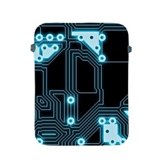 A Completely Seamless Background Design Circuitry Apple Ipad 2/3/4 Protective Soft Cases by Amaryn4rt