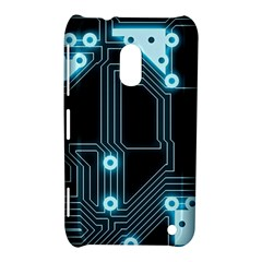 A Completely Seamless Background Design Circuitry Nokia Lumia 620 by Amaryn4rt