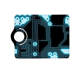 A Completely Seamless Background Design Circuitry Kindle Fire Hd (2013) Flip 360 Case by Amaryn4rt