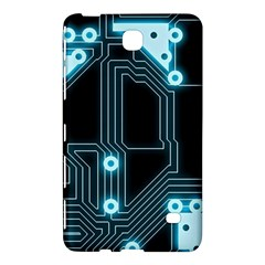 A Completely Seamless Background Design Circuitry Samsung Galaxy Tab 4 (8 ) Hardshell Case  by Amaryn4rt